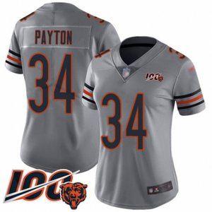 Women Bears Walter Payton 100th Season Jersey
